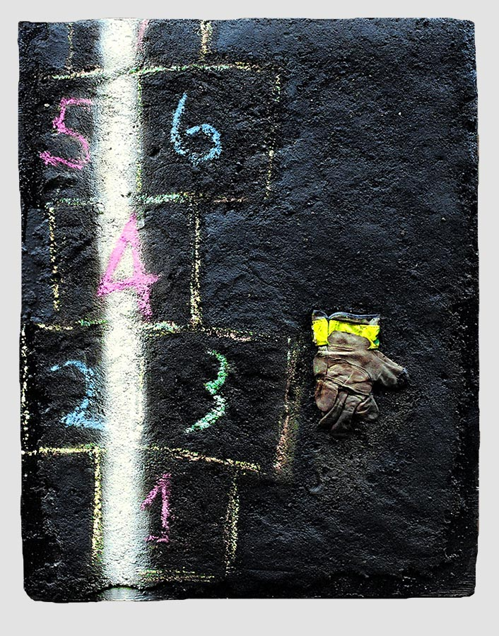 ivan jovanovic- physical landscape-streetscape-gloveless one with hopscotch
