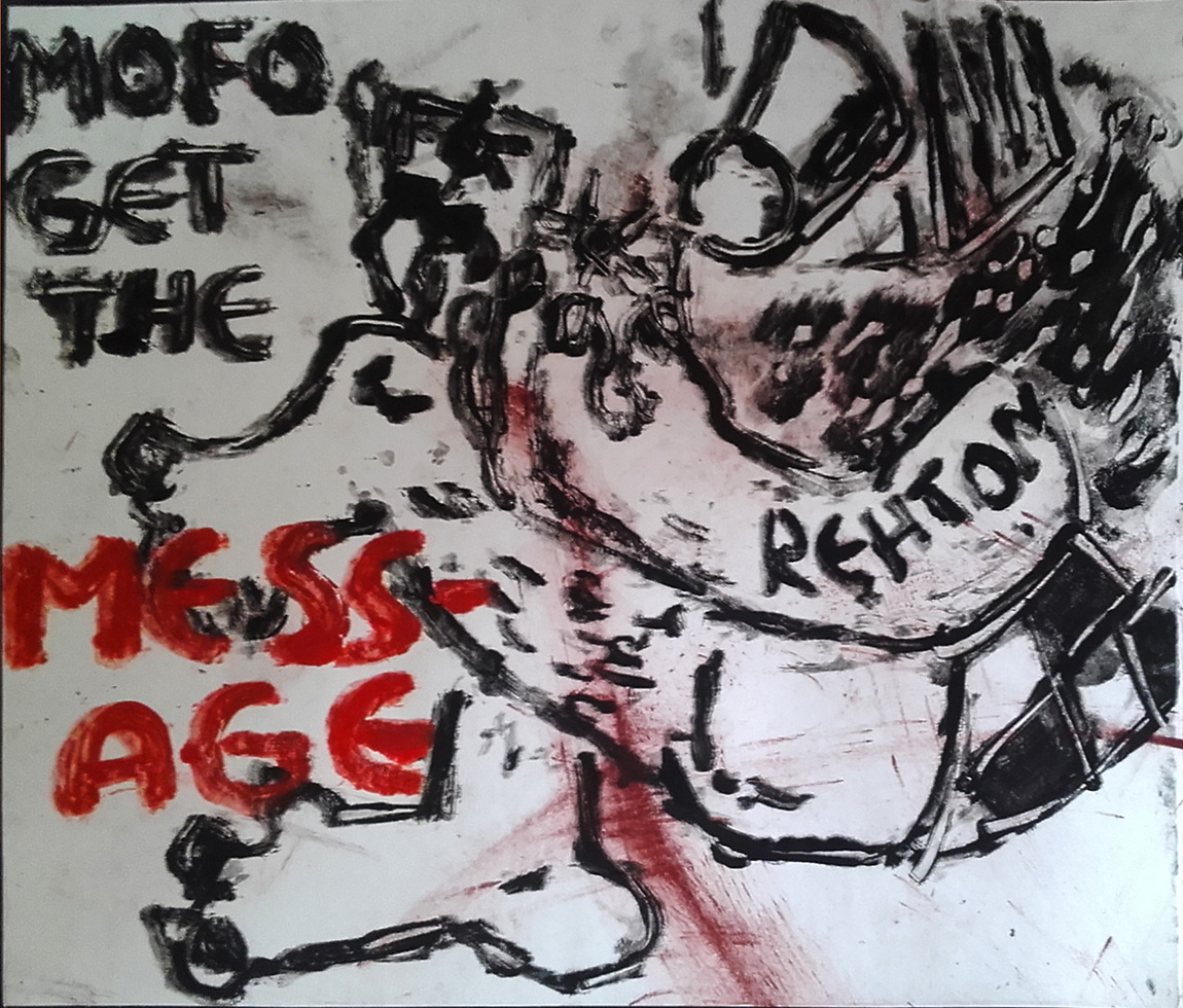MOFO get the mess-age Laundry Press