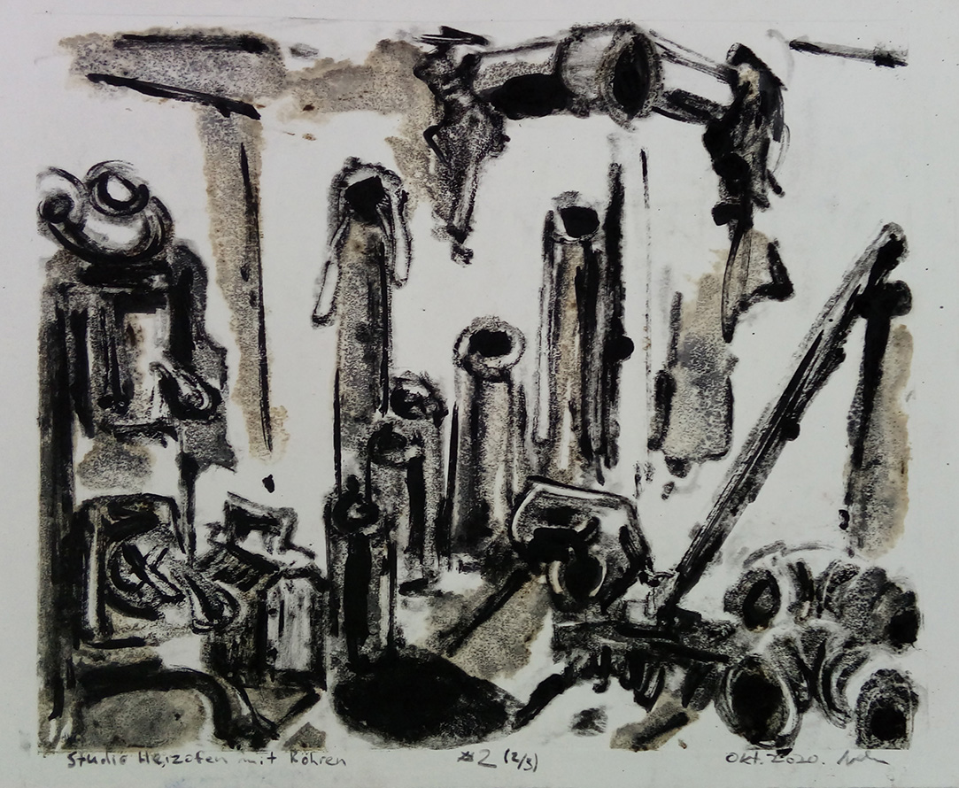laundry press studio furnace with pipes ivan jovanovic orsof